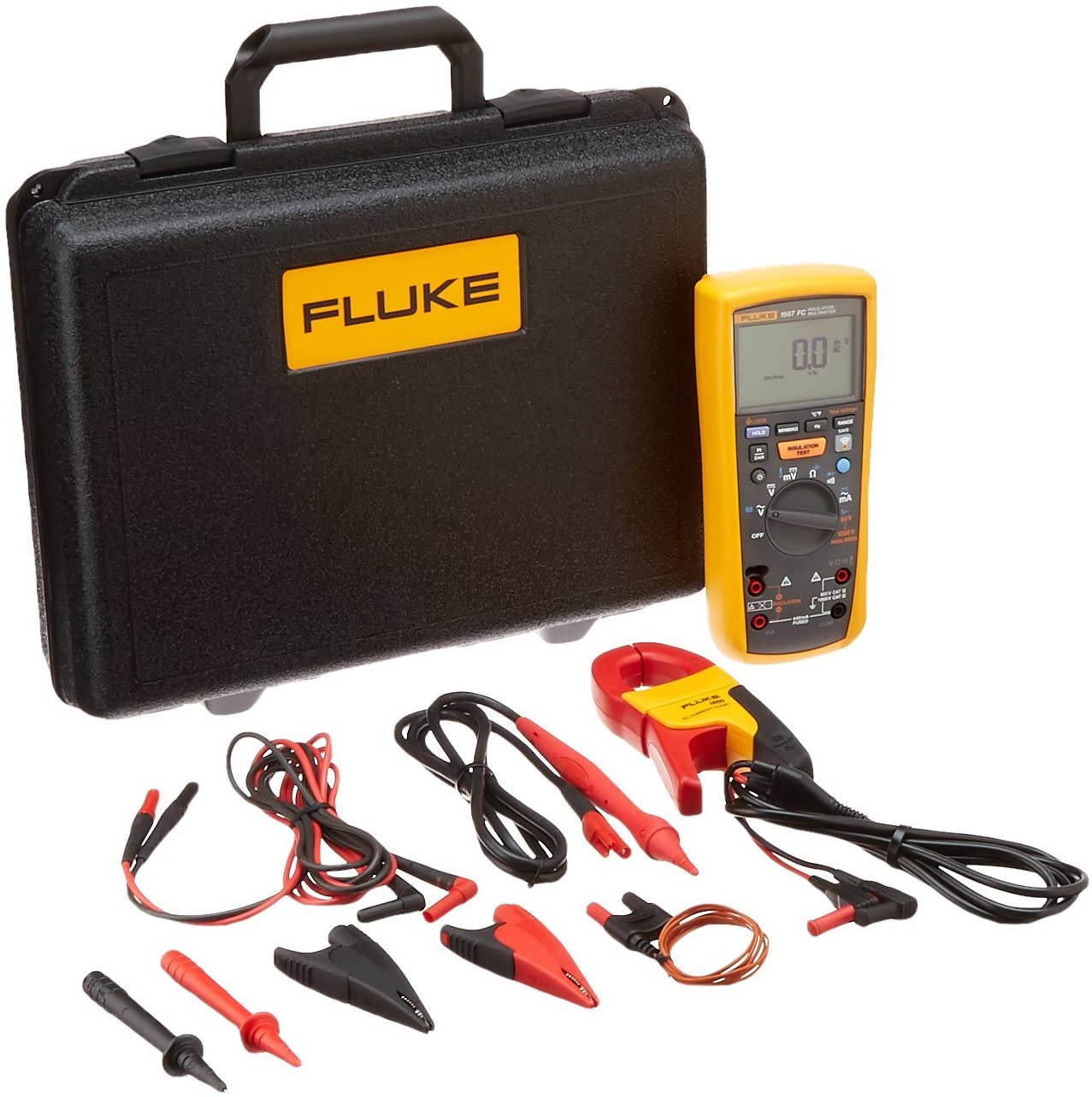 FLUKE-1587 I400 FC 2-in-1 Insulation Multimeter W Clamp