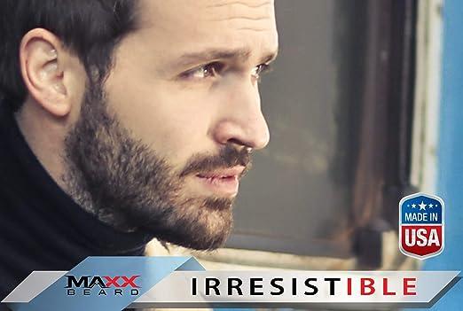 Maxx Beard -#1 Beard Growth Solution, Natural Solution for Maximum Beard  Volume-2 Month Supply