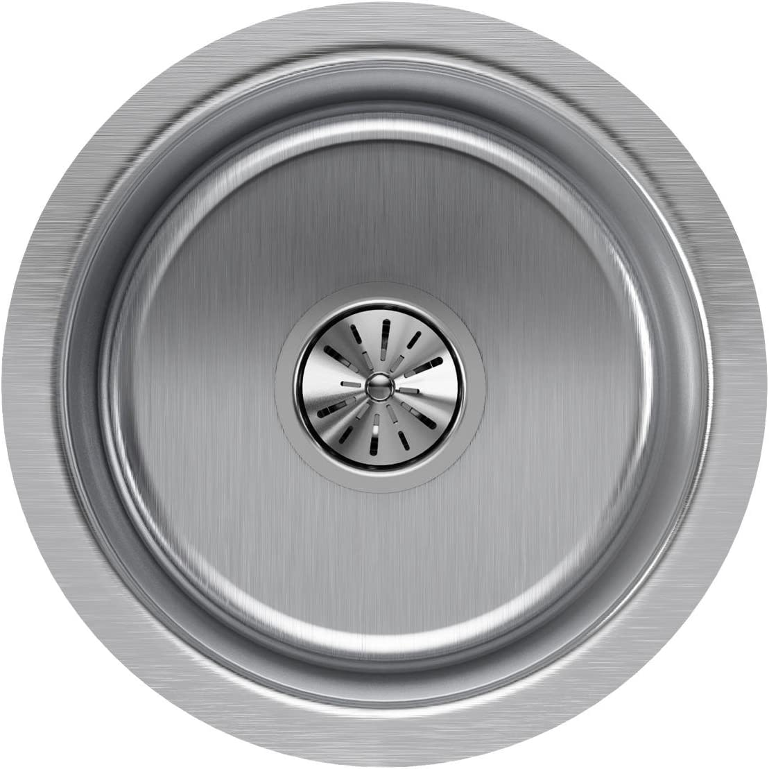Elkay ELUH12FB Lustertone Classic Single Bowl Undermount Stainless Steel Sink