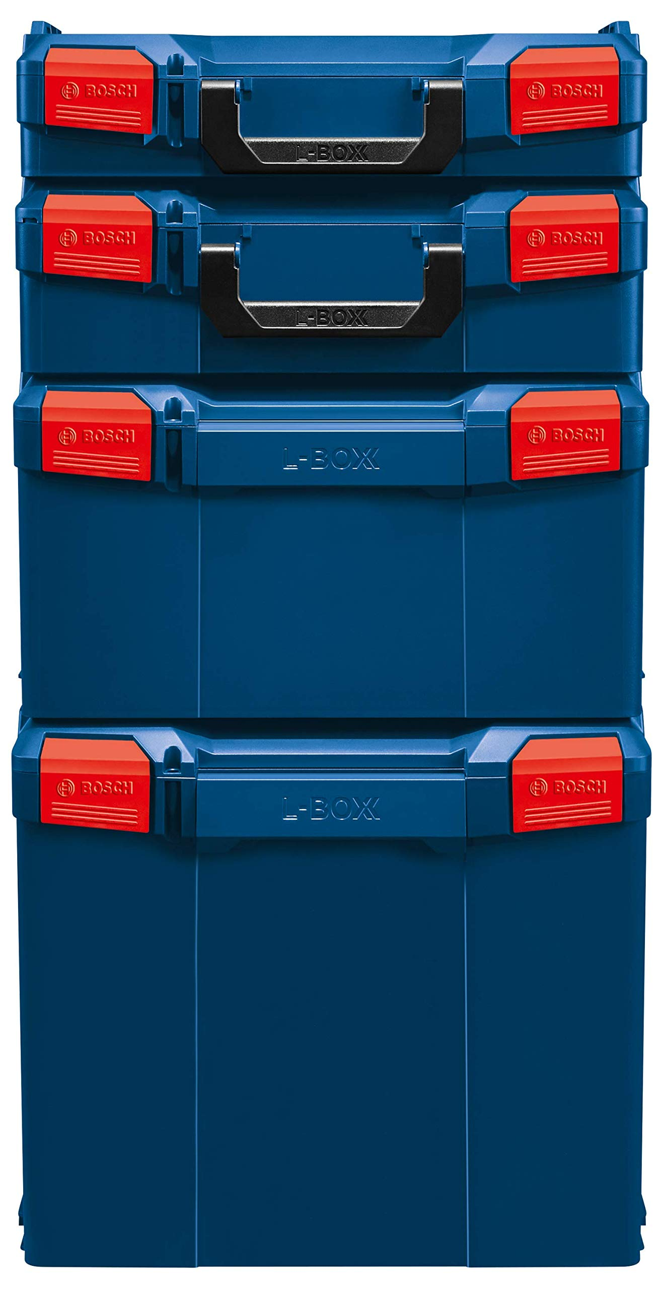 Bosch L-BOXX-1 4.5 In. x 14 In. x 17.5 In. Stackable Tool Storage Case by Bosch (Image #3)