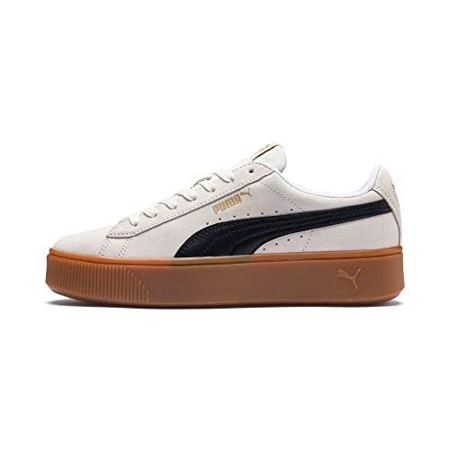 Puma Vikky Stacked SD, Zapatillas para Mujer, Morado (Whisper White Black 04), EU: Amazon.es: Zapatos y complementos
