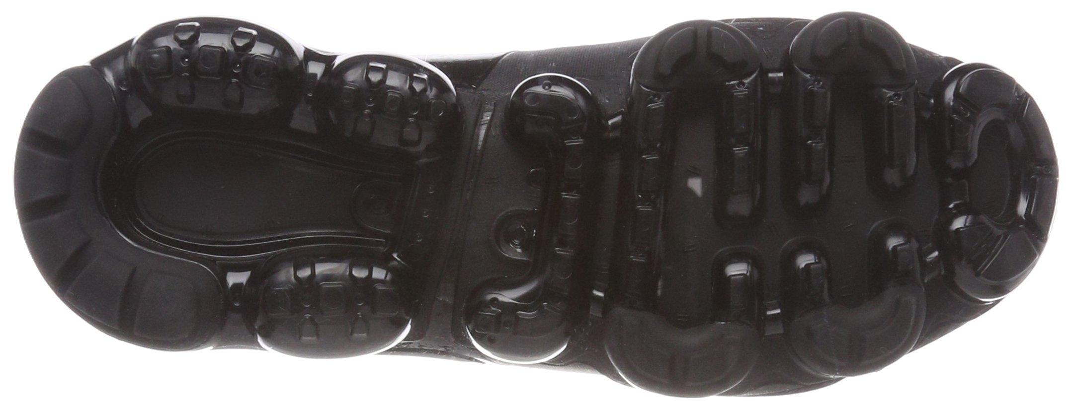 NIKE Kids' Grade School Air Vapormax Running Shoes (Black/Black/Black,5) by NIKE (Image #3)