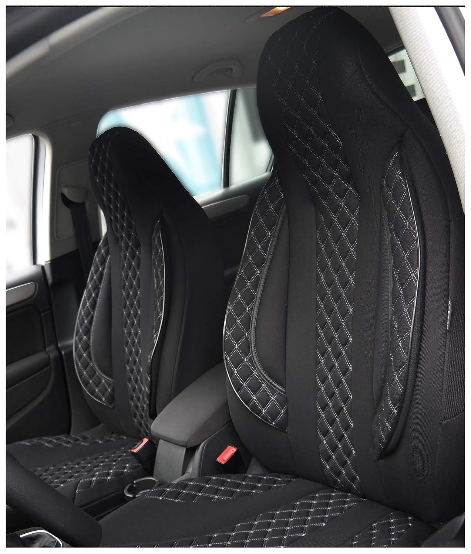 GSC Sitzbez/üge Universal Schonbez/üge kompatibel mit Renault CLIO