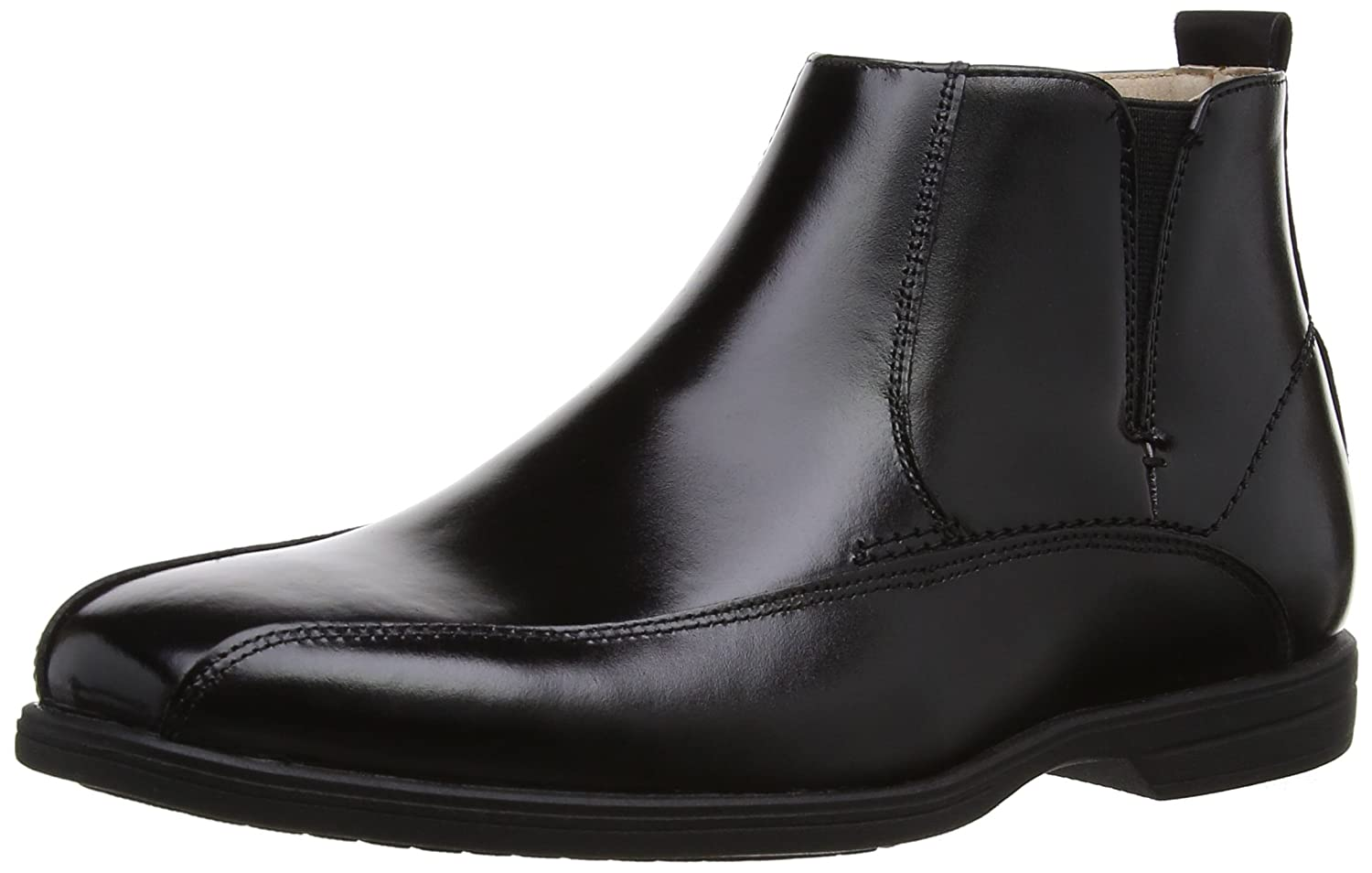Florsheim Kids Reveal JR C Side Zip Chelsea Uniform Boot (Little Kid/Big Kid) Reveal JR C Side Zip - K