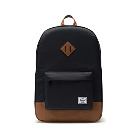 Herschel Heritage Backpack Rucksack, 21 Liter, Schwarz/Tan