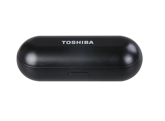 Amazon.com: Toshiba RZE-BT800E(K) True-Wireless Stereo Sweat-Resistant BT Earphones with Built-in Dual Microphones Black: Electronics