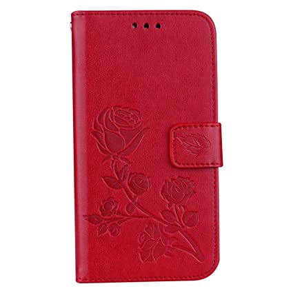 Amazon.com: Ttyug 3D Flower Leather Case for Samsung Galaxy ...