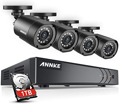 4*720P Outdoor CCTV Video DVR OY LOT 4CH 1080N HDMI Home Security Camera System