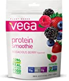 Vega Protein Smoothie, Bodacious Berry, 9.2 oz, 12 Servings