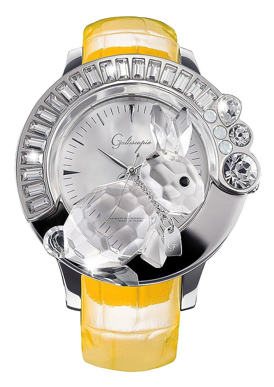 [ガルティスコピオ] Galtiscopio 腕時計 DARSS001YLS 兎10 黄 スワロフスキー クリスタル キラキラ レディース 日本正規総代理店 [正規輸入品] [時計] B007W8IPVE