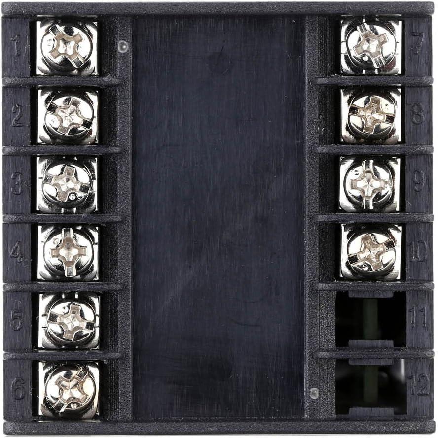 Kongnijiwa Mypin TA4-INR 90-260V AC//DC PID num/érique Contr/ôleur de temp/érature 4-20mA contr/ôleur 90-260V AC//DC Temp/érature de Sortie analogique Alarme Thermostat de r/égulation
