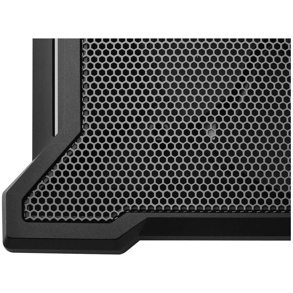 Cooler Master NotePal X-Slim II Laptop Cooling Pad 'Silent 200mm Fan, Egonomic Design, Supports up to 15.6'' laptops' R9-NBC-XS2K-GP by Cooler Master (Image #2)