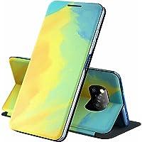 ESONG Samsung Galaxy A12 Hoesje,Premium PU Lederen Flip Cover Telefoonhoesje met Kaartsleuven, Stand Functie…