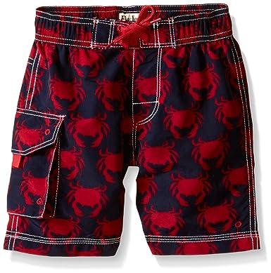 31ee228718 Amazon.com: Hatley Boys' Graphic Crabs Board Shorts: Clothing