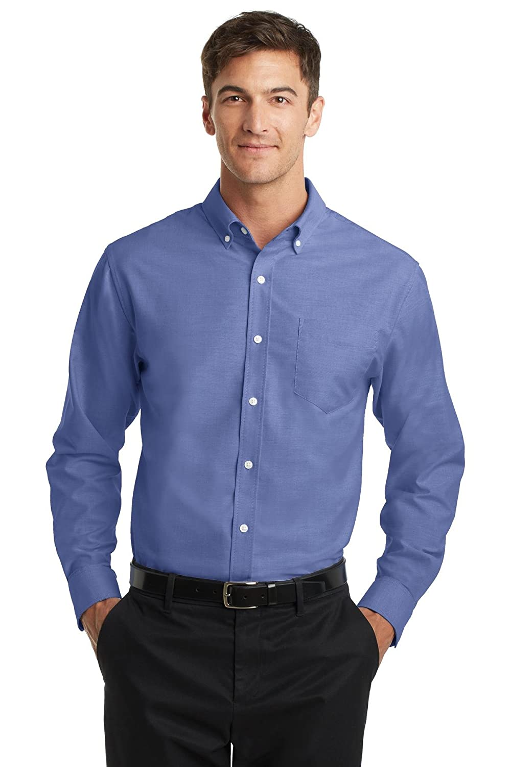 Port Authority Mens SuperPro Oxford Shirt