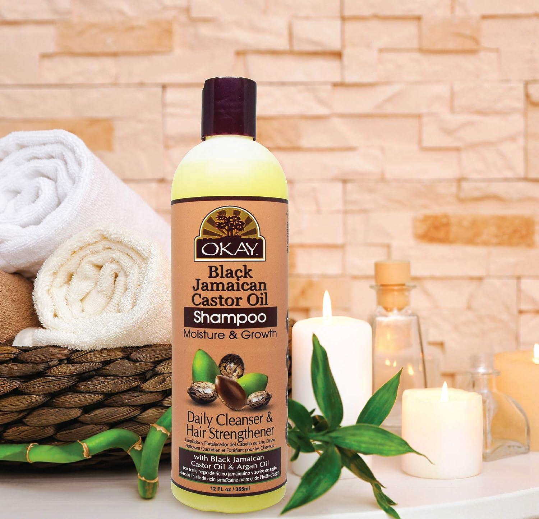 Amazon.com: Okay Negro Aceite de Ricino de Jamaica Humedad ...