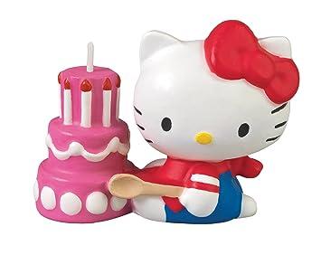 Amazon Com Wilton Hello Kitty Candle Decorative Cake Toppers