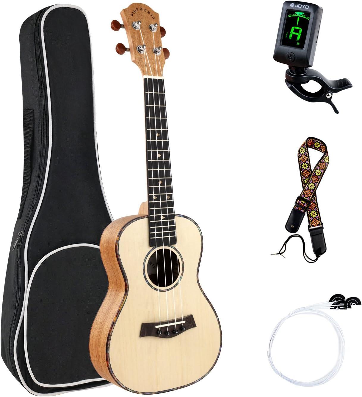 Ukelele profesional 23 pulgadas ukulele de concierto paguete ...