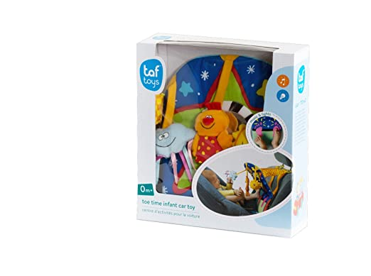 Taf Toys Toe Time Infant Car Toy Travel Activity Centre