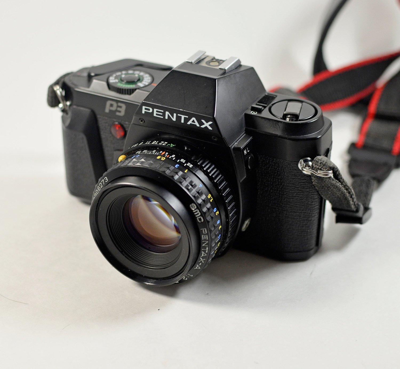 Pentax P3 Manual Focus 35mm Film Camera W 50mm Lens K1000 Diagram Related Keywords Suggestions Photo