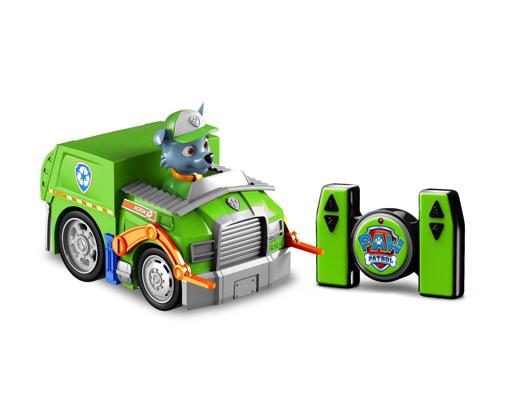 Paw Patrol Rocky Radio Control Recycling Truck