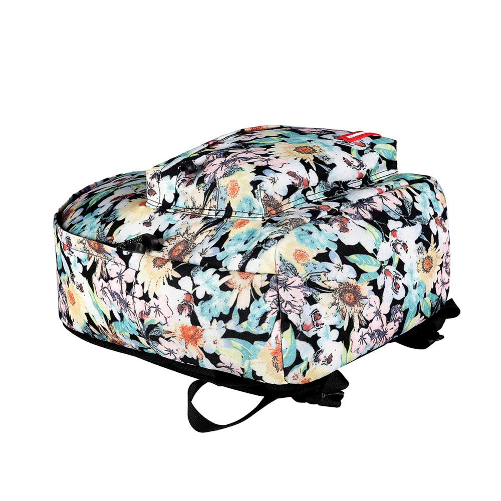 Canvas Backpack, Businda Cute Backpacks School Bookbags Printing Zipper Backpacks Fashion School Bags Casual Canvas Laptop Protective Rucksack for Kids Adults Boys Girls by Businda (Image #5)