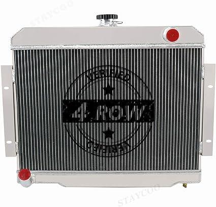 ZC583 3 Rows Radiator 1972-1986 Jeep Cj Series Cj5 Cj6 Cj7 Scrambler