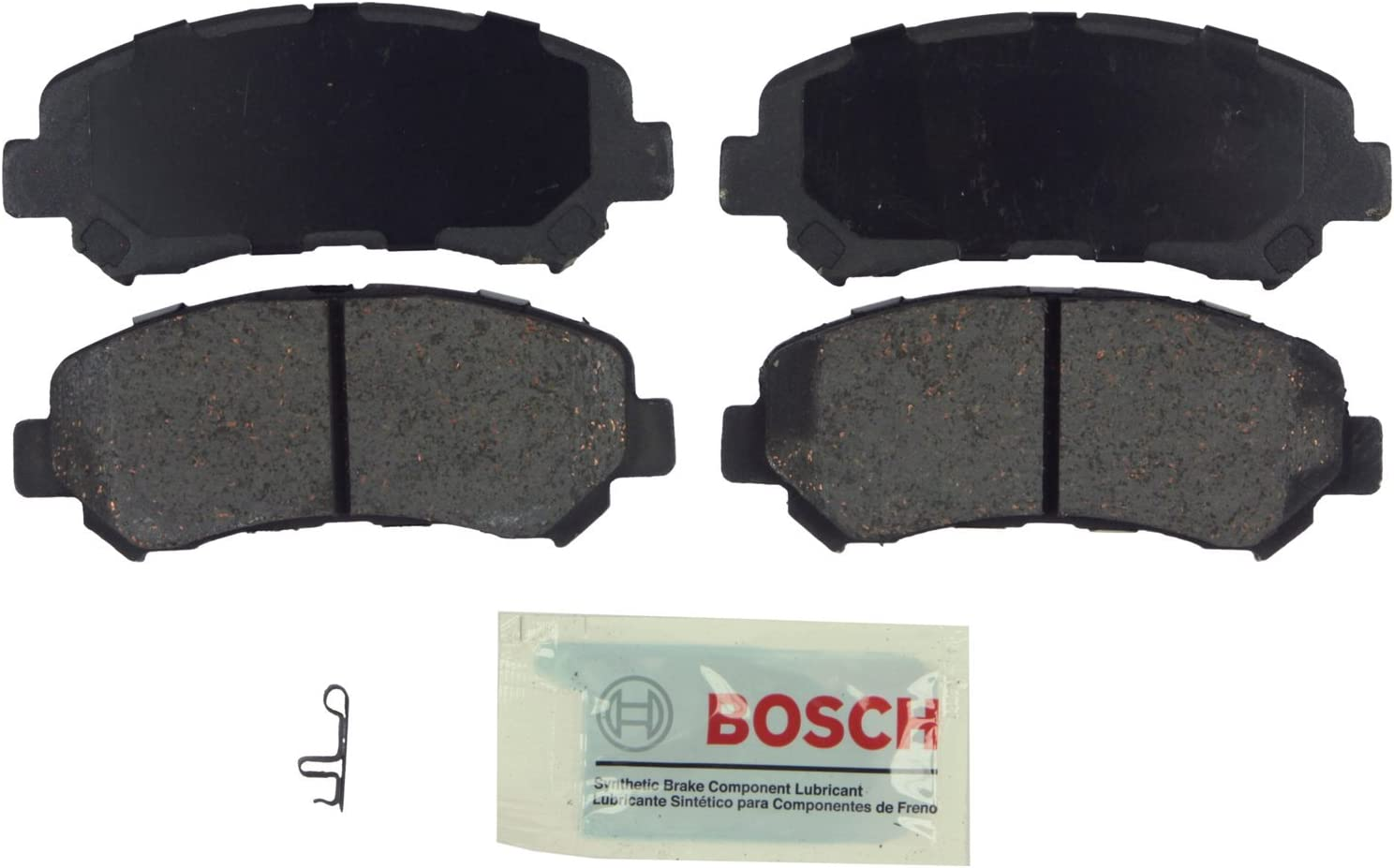 Front Disc Brake Pad Set Bosch QuietCast BP1338 Fits Nissan Maxima Rogue Suzuki