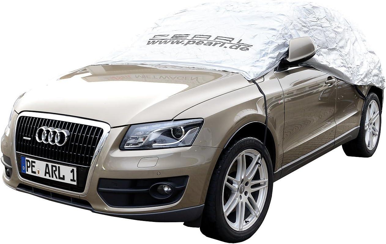 Pearl Auto Halbgaragen Winter Auto Halbgarage Für Suv Kastenwagen 410 X 140 X 65 Cm Schneeschutz Auto Auto