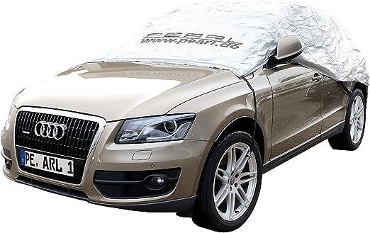 Pearl Pkw Halbgarage Winter Auto Halbgarage Für Suv Kastenwagen 410 X 140 X 65 Cm Allwetterschutz Plane Für Auto Auto