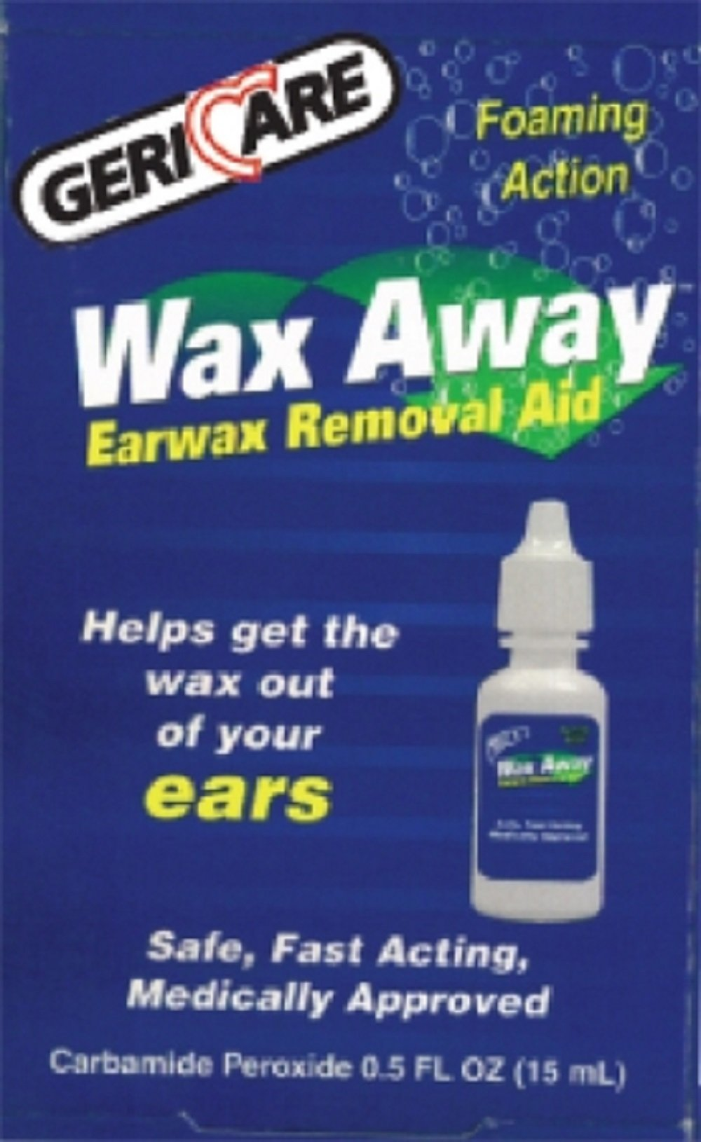 McKesson Brand - Earwax Removal Aid - 0.5 oz. Liquid - Carbamide Peroxide - 24/Case