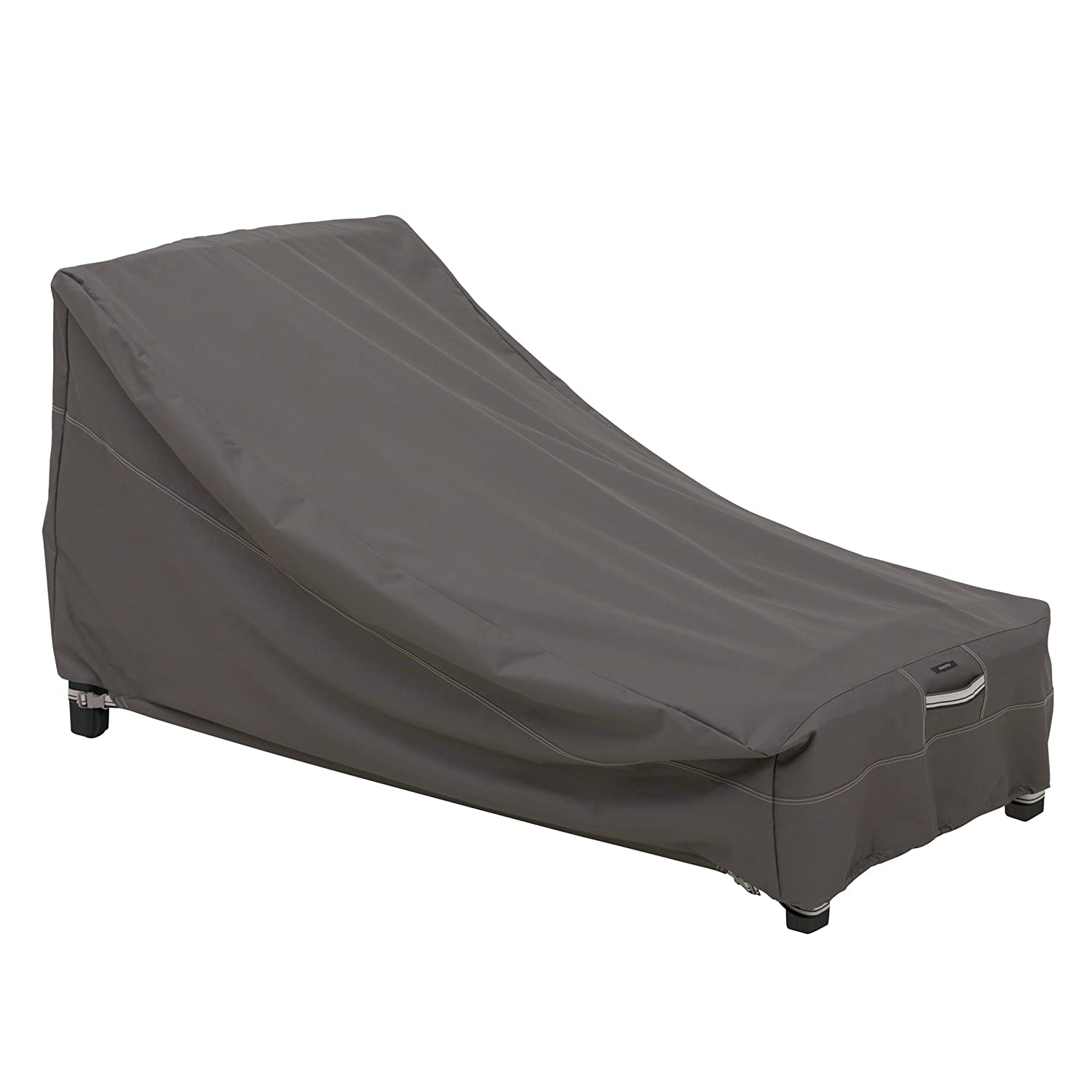 Classic Accessories 55-162-035101-EC Ravenna Patio Day Chaise Cover, Medium, Taupe
