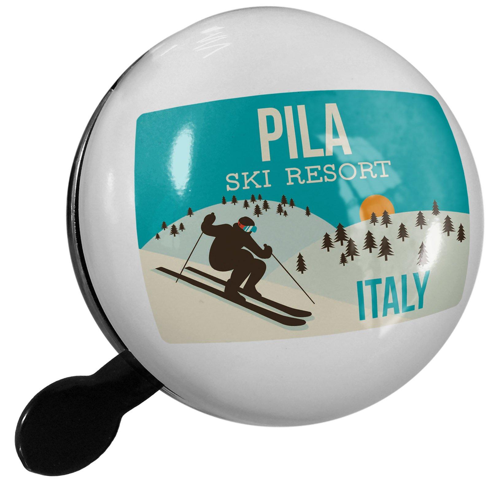 Small Bike Bell Pila Ski Resort - Italy Ski Resort - NEONBLOND
