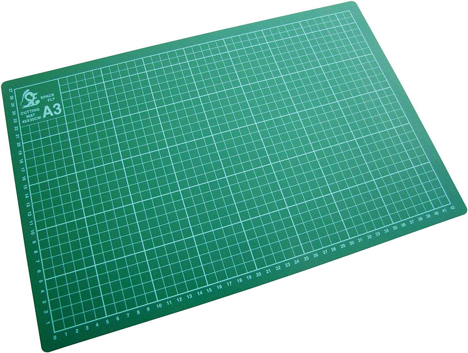 etc LETTUCE EAT /® A3 Cutting Mat Premium Quality Flexible Non Slip Hobby Arts and Crafts Surface with Accurate Guide Grid Lines Design for Cutting Paper Card Protects from Cuts and Damage