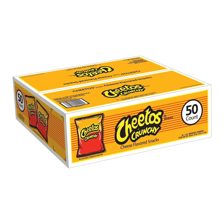 Cheetos Crunchy 1 oz, 50 ct. A1