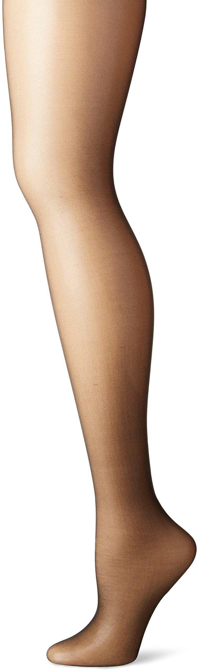 fb20d66a7 Hanes Silk Reflections Women s High Waist Control Top Sandalfoot Pantyhose