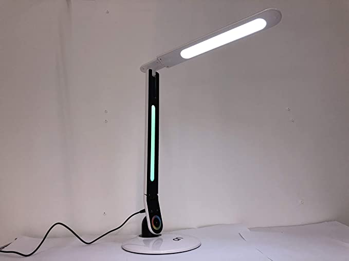 Cod 23 8600 00 Mod Sleepy Lampada Da Tavolo 72 Led Dimmer Touch Con Luce Notturna Multicolor Rgb Amazon It Illuminazione