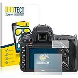 brotect Panzerglasfolie Nikon D750 Schutzfolie Flexible Glas-Folie [AirGlass] Panzerfolie Displayschutzfolie