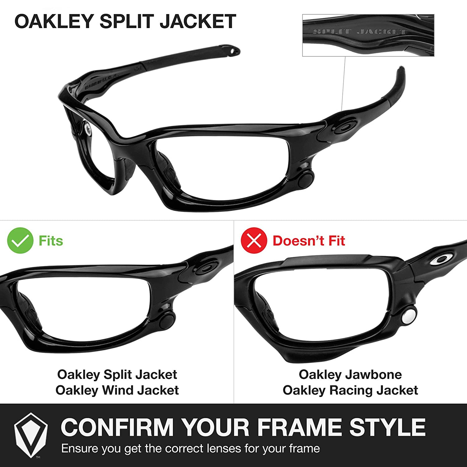 oakley split jacket  amazon: revant lenses for oakley split jacket polarized 24k gold: clothing