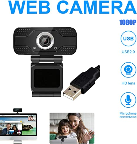 Kepeak New 1080p Hd Usb Webcam Computer Hd Camera With Noise Reduction Microphone Pc Camera For Meeting Online Course Video Calling Amazon Co Uk Computers Accessories