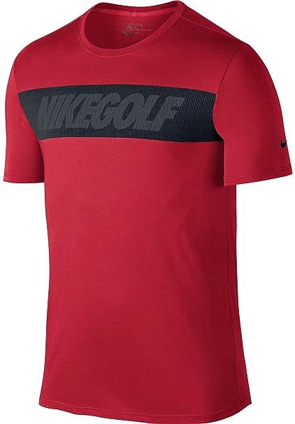 Nike Men's Graphic Golf T-Shirt (University Red) S
