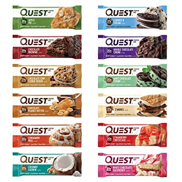 questbar 12 pack