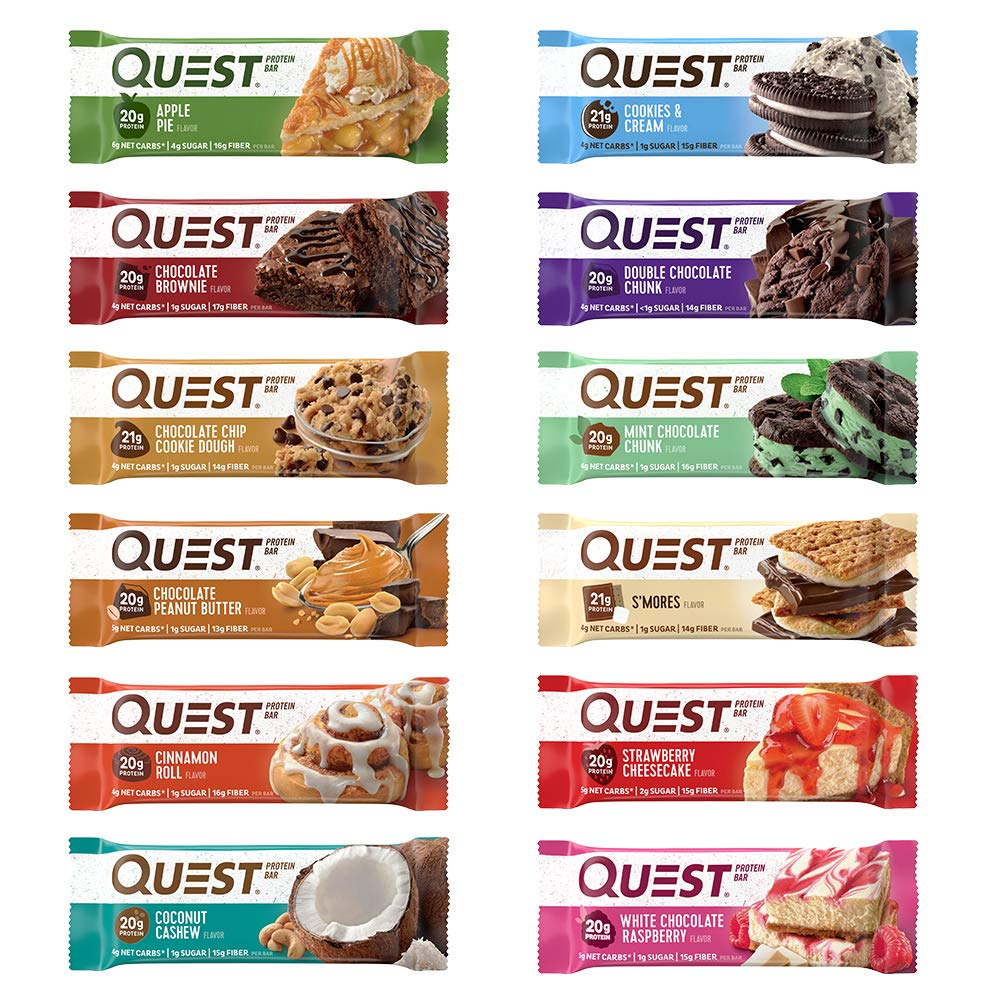 Amazon.com: Quest Nutrition Protein Bar, Chocolate Lovers ...