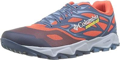 """Columbia Trans Alpsâ""""¢ F.k.t.â""""¢ II, Zapatillas de Trail Running para Hombre, Rojo (Red Quartz, Acid Yellow), 48 EU: Amazon.es: Zapatos y complementos"""