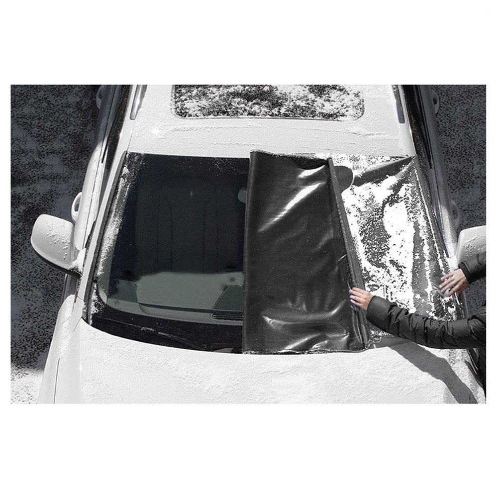 Frost Windshield Cover Waterproof Windproof Dustproof Outdoor Car Covers Fits Most Car Truck Van Windshield Cover Alotm 84x50inches Magnetic Windshield Cover for Ice and Snow SUV