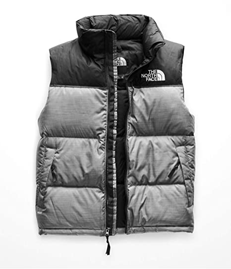 The North Face Men S 1996 Retro Nuptse Vest Tnf Medium Grey Heather