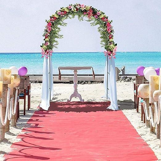 Arco de la boda de hierro Decorativo jardín Telón de fondo Pérgola ...