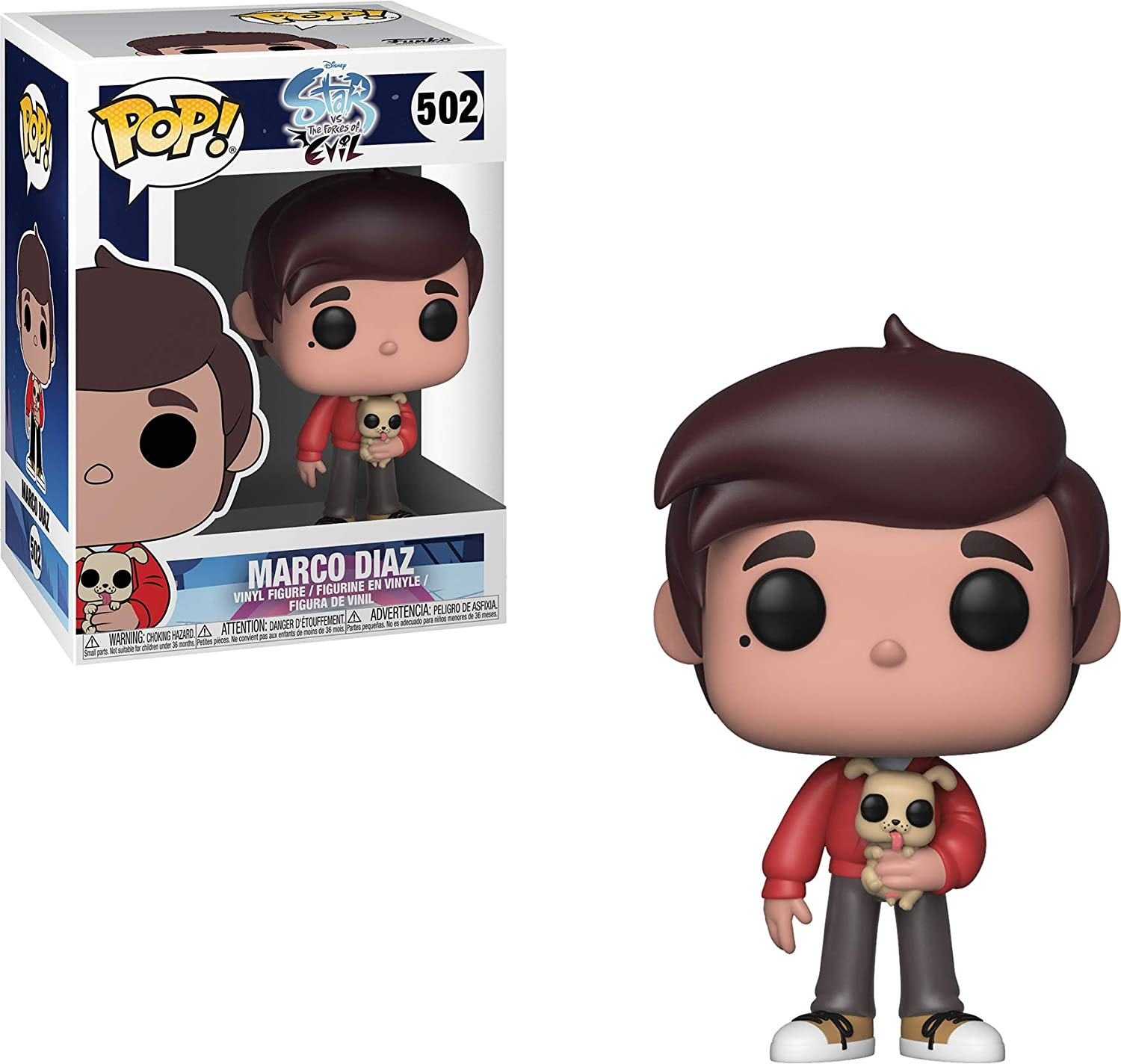 Pop! Star Vs. The Forces of Evil - Figura de Vinilo Marco Diaz