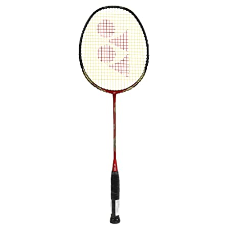 Yonex Nano Ray 68 Light Weight Rudy Hartono Special Edition Badminton Racquet,  Red Black, Graphite, G4   77g, 30 lbs Tension