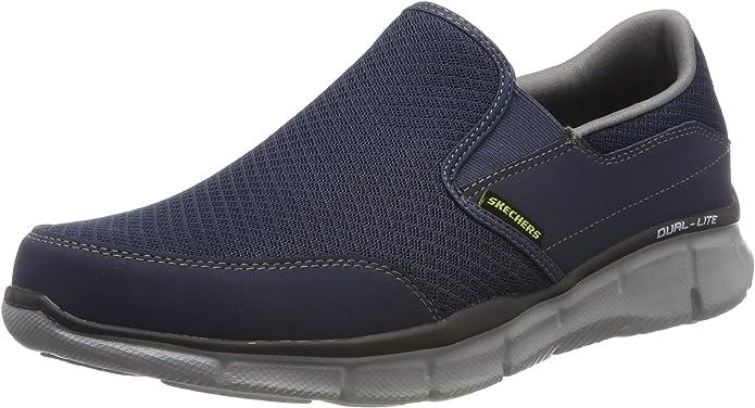 Skechers Ultra Flex Salutations Sneaker Herren Blau/Grau